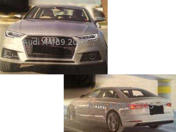 Scoop : la future Audi A4 et ses moteurs s'échappent sur la toile