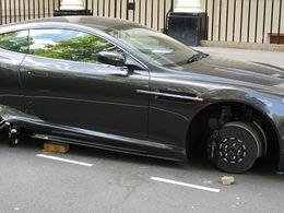 James Bond est un homme comme les autres : il se fait vandaliser son Aston Martin DBS