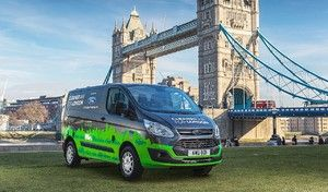 Ford va tester le Transit hybride rechargeable à Londres