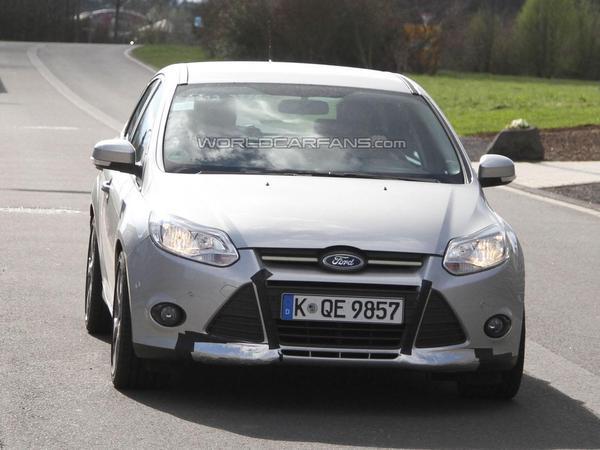 Première prise : la future Ford Focus ST en test