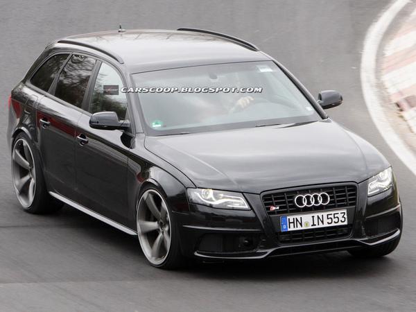 Nouvelle prise : la prochaine Audi RS4 sur le Ring