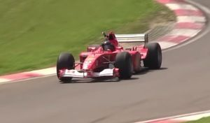 La Ferrari F2002 de Michael Schumacher bientôt à vendre