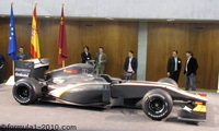 F1: Hispania Racing Team nous dévoile (enfin) sa monoplace !