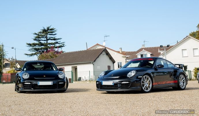 Photos du jour : Porsche 911 997 GT2 (Cars and Coffee Paris)