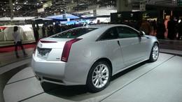 Genève 2010 Live : Cadillac de retour en Europe avec le CTS Coupé