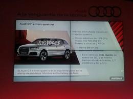 Audi Q7 e-tron : premiers détails ?