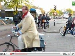 A quoi ressemble une ville pleine de vélos ? La réponse en vidéo.