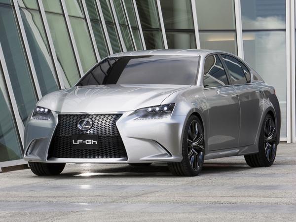 New York 2011 : la Lexus LF-Gh se dévoile