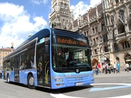 Bus hybride : le nouveau MAN Lion's City roule à Munich