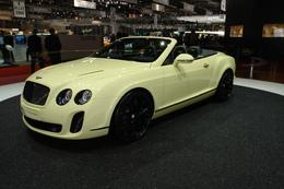 Genève 2010 Live : Bentley Continental Supersports Convertible, la classe aérienne à 325 km/h