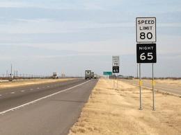 Le Texas à contre-courant sur les limitations de vitesse