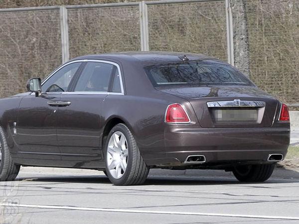 La Rolls Royce Ghost bientôt plus longue...