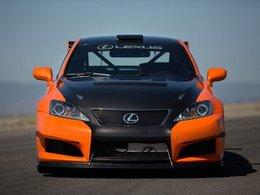 Lexus à l'attaque de Pikes Peak avec l'IS-F CCS-R