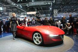 Genève 2010 live : Alfa Romeo 2uettotanta par Pininfarina, enjôleuse