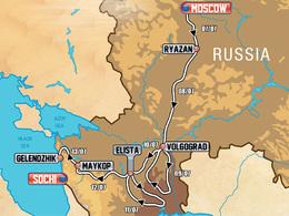 La 4e édition du Silkway Rally 2012 débutera le 7 juillet