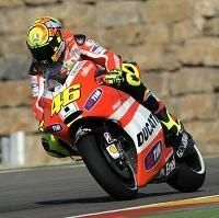 Moto GP - Aragon D.2: Valentino Rossi contraint de partir des stands pour le Grand Prix