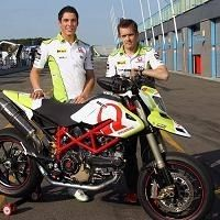 Moto GP - Ducati: Pramac présente son Hypermotard