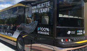 Les premiers bus à hydrogène mis en service en France