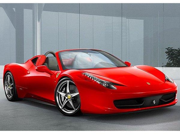 Future Ferrari 458 Spider : avec un toit en dur ?