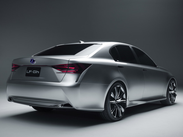 New York 2011 : La Lexus LF-Gh en vidéo