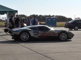 Texas Mile : la Ford GT passe les 447 km/h