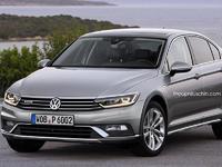 Design : la Volkswagen Passat Alltrack en berline