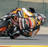 Moto 2 - Aragon D.3: Marc Marquez ne desserre pas l'étau