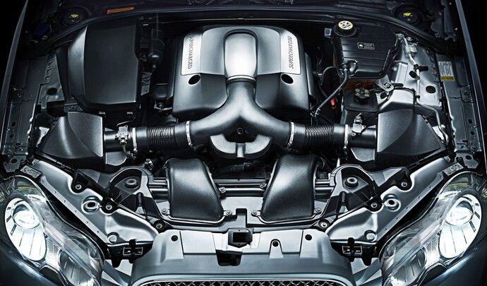 """Jaguar perd sa """"patte"""", le moteur compressé"""