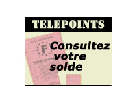 telepoints permis consultez votre solde de points en ligne. Black Bedroom Furniture Sets. Home Design Ideas
