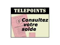 Telepoints Permis : consultez votre solde de points en ligne
