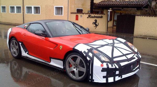 De nouvelles photos de la future Ferrari 599 GTO