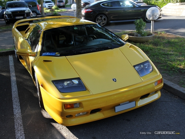 Photos du jour : Lamborghini Diablo Vt Roadster (GT Days)