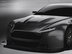 La nouvelle Aston Martin Vantage GT3 en piste en 2012