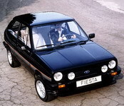 La p'tite sportive du lundi: Ford Fiesta XR2.