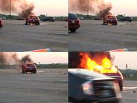 [Vidéo] Le magnifique vol plané d'un conducteur bourré à l'aéroport de Dallas