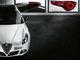 Salon de Genève 2015 - Alfa Romeo Giulietta Collezione, en noir et blanc