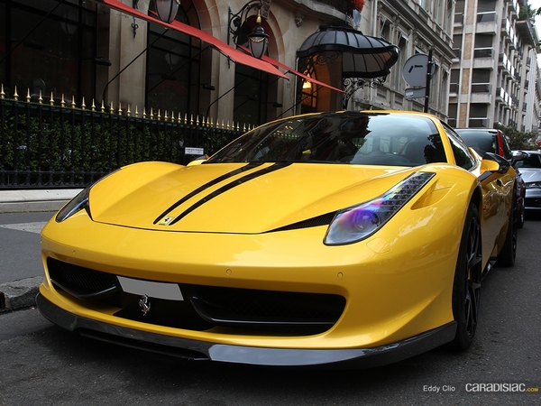 Photos du jour : Ferrari 458 Italia By Vorsteiner