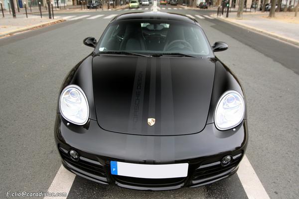 Photos du jour : Porsche Cayman S Porsche Design edition 1