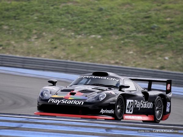 Photos du jour : Porsche 911 996 GT1 (10000 Tours)