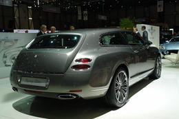 Genève 2010 live : Bentley Continental Flying Star par Touring Superleggera, pour Médor
