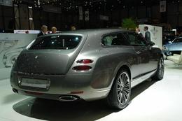 Genève 2010 live : Bentley Continental Flying Star par Touring Superleggera, pour Médor