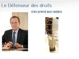 Radar automatique : le défenseur des droits tape du poing