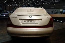 Genève 2010 Live : Maybach Landaulet, rien de nouveau face à la flamboyance de Rolls-Royce