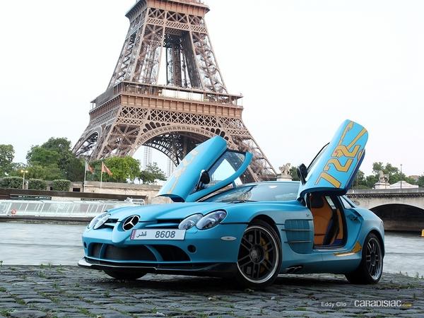 Photos du jour : Mercedes SLR 722