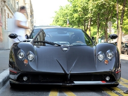 pagani zonda roadster essais fiabilit avis photos prix. Black Bedroom Furniture Sets. Home Design Ideas