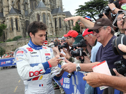 """(Le Mans 2010) Loïc Duval, pilote de la Peugeot 908 """"Oreca"""""""