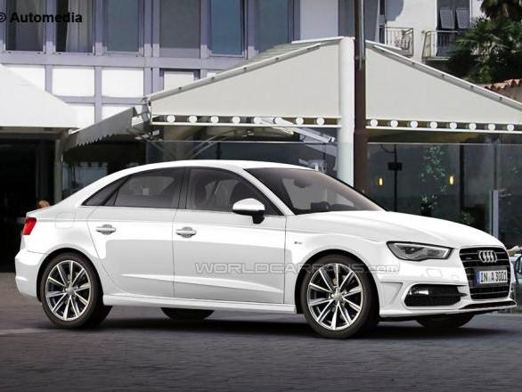 Audi A3 quatre portes : pour les Américains, dans un premier temps