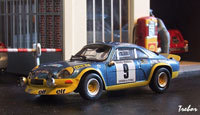 Miniature : 1/43ème - ALPINE A110 1600 turbo