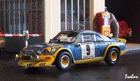 Miniature : 1/43ème - ALPINE A110 1600 turbo