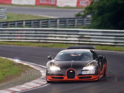 folies : la bugatti veyron supersport à l'assaut du record ?